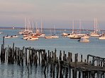 This is the bayside beach that is a 5 minute walk to downtown Provincetown..Always breathtaking