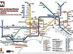 Mappa delle metropolitane
