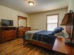 Spacious bedrooms, TVs in master bedroom