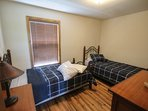 3rd bedroom has two twin beds