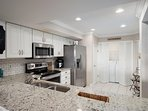 Lovely kitchen with Samsung appliances