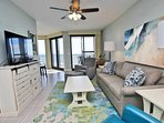 8th Floor Gulf Front Condo with a Large Balcony