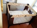 Camping cot for the little one