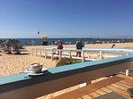 Beach on Eastern (Tivoli) side of Vilamoura marina