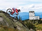 It's arrived!  Biking at Big White.  Grand opening  was June 2017.