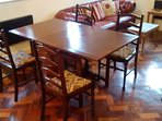 Good size dining table