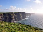 Cliffs on Atlantic Ocean