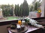 Amenities de aseo y de desayuno para el primer día de tu estancia.