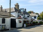 The Gun Inn at local Keyhaven