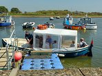 Local ferries from Keyhaven to Hurst Castle
