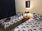 3rd Bedroom 2 x Single beds