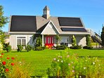 This gorgeous solar home is yours to enjoy.