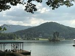 Enjoy the beautiful North Georgia Mountains and Lake Chatuge in one beautiful setting.