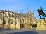 Batalha Cathedral is impressive and beautiful.