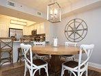 Dining Area Sea Dunes Resort Unit 202 Fort Walton Beach Okaloosa Island Vacation Rentals