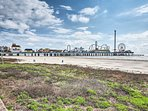 Your day trip can also include enjoying the games and rides at the Galveston Pleasure Pier.