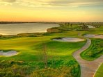 You can also play 18 at the beautiful and challenging Moody Gardens municipal golf course.