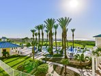 Head down to the Sunset Pool on the bay side to enjoy a small lazy river, hot tub, and BBQ pits.