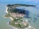 Île d'Aix, vues d'avion ou d'hélicoptères les îles se révèlent dans leur écrin
