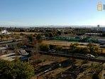 Vista desde el balcón hacia las Sierras de Córdoba