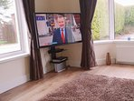 52in TV with DVD player