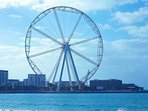 Set to open in 2019, get ready to ride on the worlds largest Ferris wheel