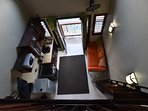 Aerial view from your Mezzanine!
