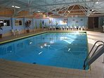 Heated Indoor Pool, with sauna and jaquousi