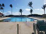 Spend the day at this nearby pool with access to the gorgeous beach beyond!
