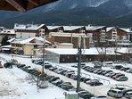 Stunning Views from Apartment to Main Gondola.