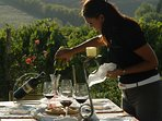 Private wine tasting guided by a professional sommelier