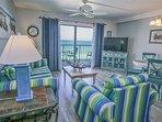 Summit Beach Resort Rental 1024 - Living Area