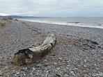 Kinmel Bay beach looking towards Abergele - Colwyn Bay - Rhos on Sea