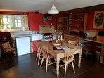 Spacious kitchen / diner