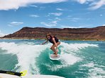 water sports available at sand hollow reservoir