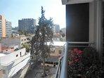 Vista desde el balcón hacia el área universitaria de la ciudad