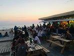bar de plage à 50 mètres des logements