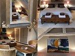 détails chambre LA SUITE (5 lits simples)