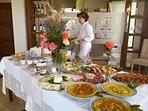 Sunday Brunch at 'Dolce Vita' Dinng room