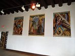 Murals at the Old Taos Courthouse