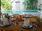 Continental breakfast is included with your stay...