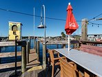 FUBAR offers dining right on the water