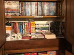 Extensive library of films and box sets