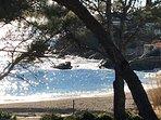 Une plage St Aygulf