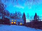 Fern Cottage on a Winter's Dawn