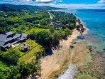 Shambala Fiji from above