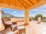 Villa master suite private terrace