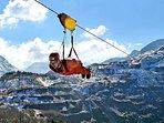 Adrenaline fun in nearby Snowdonia...