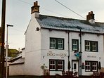 The Dog and Gun pub Skelton, 2 minutes stroll from South Byre, serves excellent food