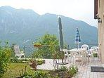 In summer,terrace